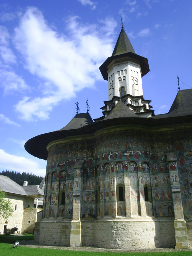 Manastirea Sucevita din Moldova