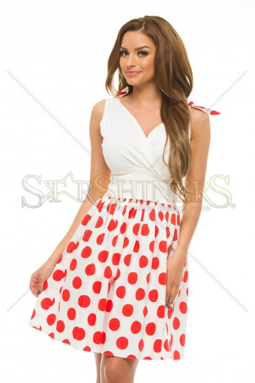 Rochie PrettyGirl Playful Red