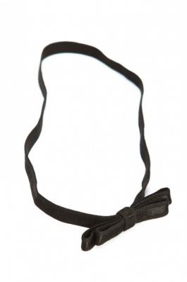 Bandana elastic cu fundita Aristocat - negru