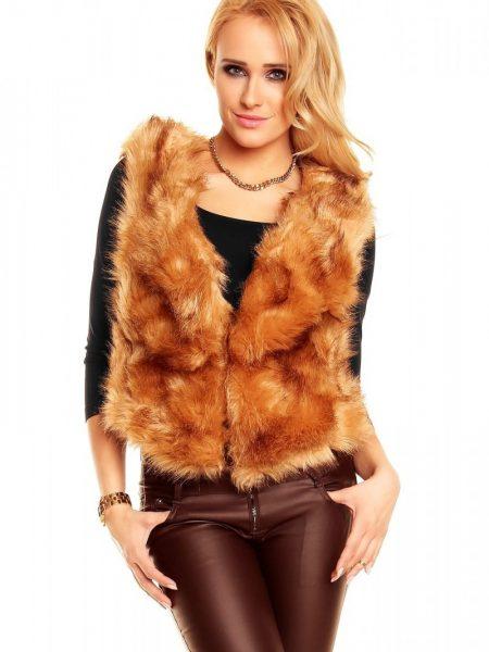 Vesta Brown Fur