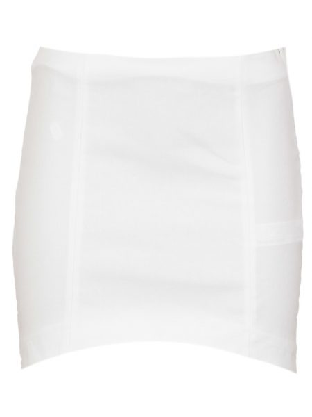 Fusta ZARA Simple Culoare Alba