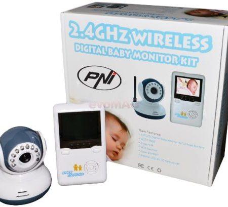 monitor audio-video bebelusi