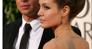 Brad Pitt inselat cu o femeie 3