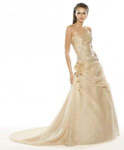 rochie de mireasa perla