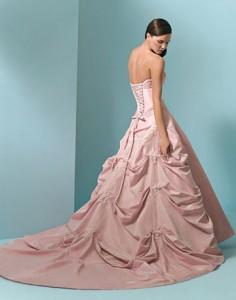 rochie de mireasa roz, originea culorilor rochiilor de mireasa