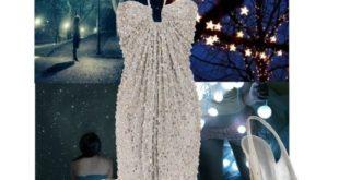 rochie argintie cu paiete