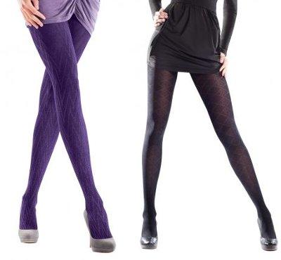 ciorapi, iarna, 2011, accesoriu, indispensabil, colorati, cu model, negru, gri, alb, catwalk, Moschino, Burberry, Loewe, Nina Ricci