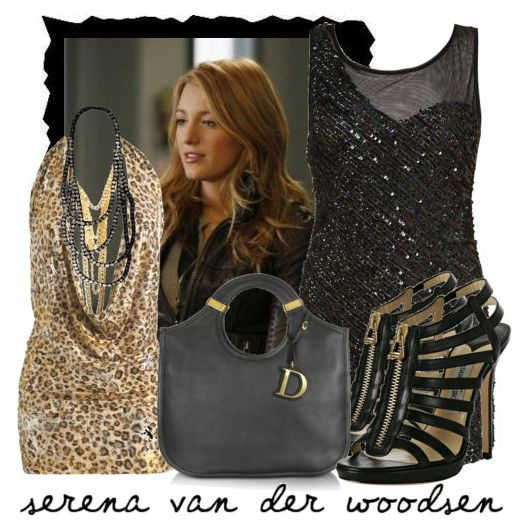 stilul Serena van der Woodsen, tinuta vestimentara, rochii, elegant, Gossip Girl