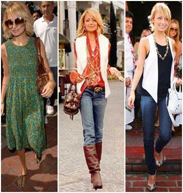 stil vestimentar, 7 stiluri de baza, natural