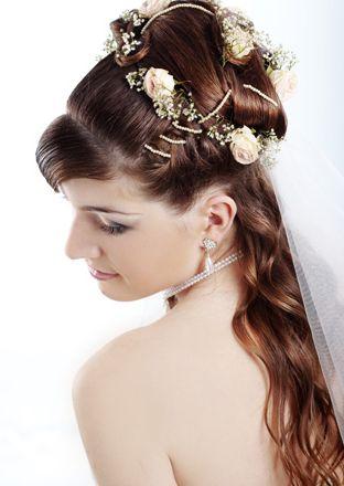 coafura, mireasa, mirese, nunta, 2011, par lung