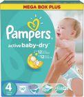 Pampers Active Baby 4 Mega Box Pack 7-14Kg (147)