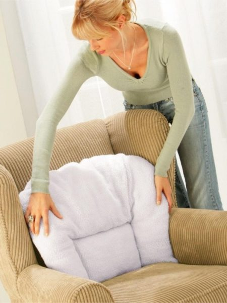 Perna dorsala foarte confortabila