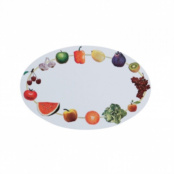 Set 100 etichete bucatarie motiv fructe