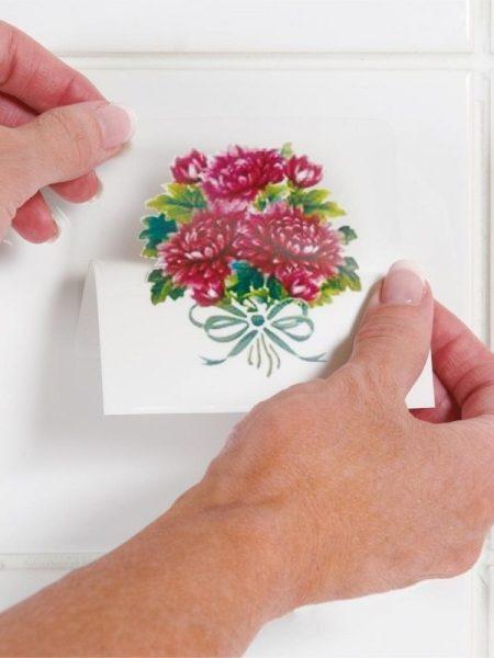 Sticker decorativ gresie - set de 6
