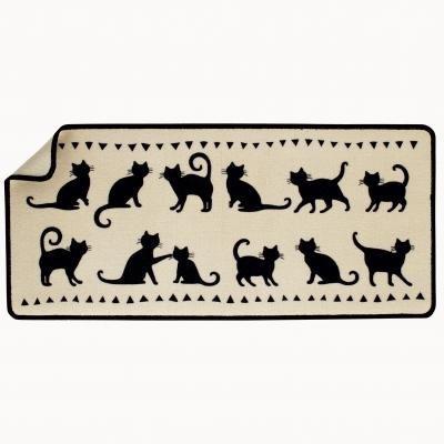 Covor pentru chiuveta cu motiv pisici