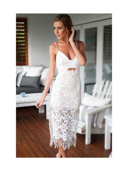 Rochie Dressed White