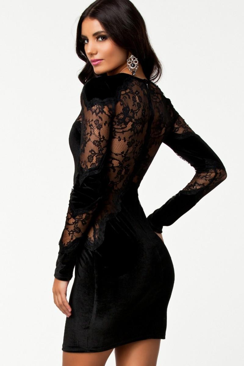 Rochie Velvet Lace