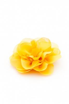 Trandafir mare din voal galben Summer Fairy - voal 03 - galben