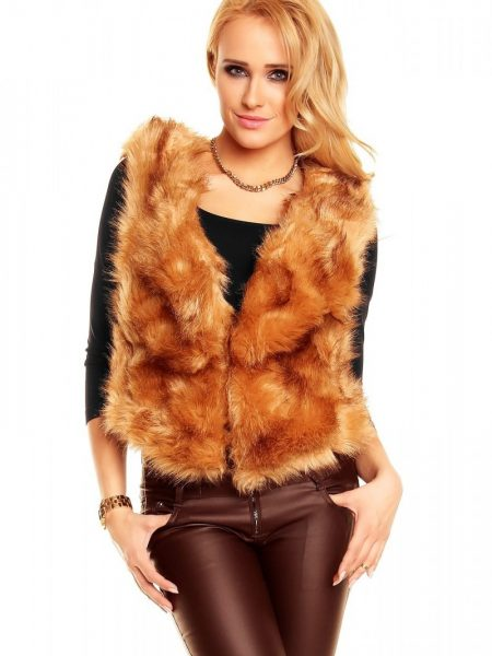 Vesta Brown Fur