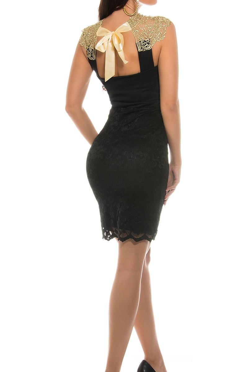rochie de seara diafane black