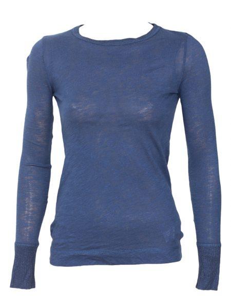 Bluza ZARA Basic Culoare Albastra