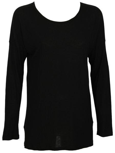 Bluza ZARA Tela Culoare Neagra
