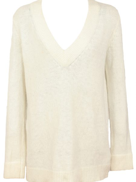 Pulover ZARA Simple Light Beige