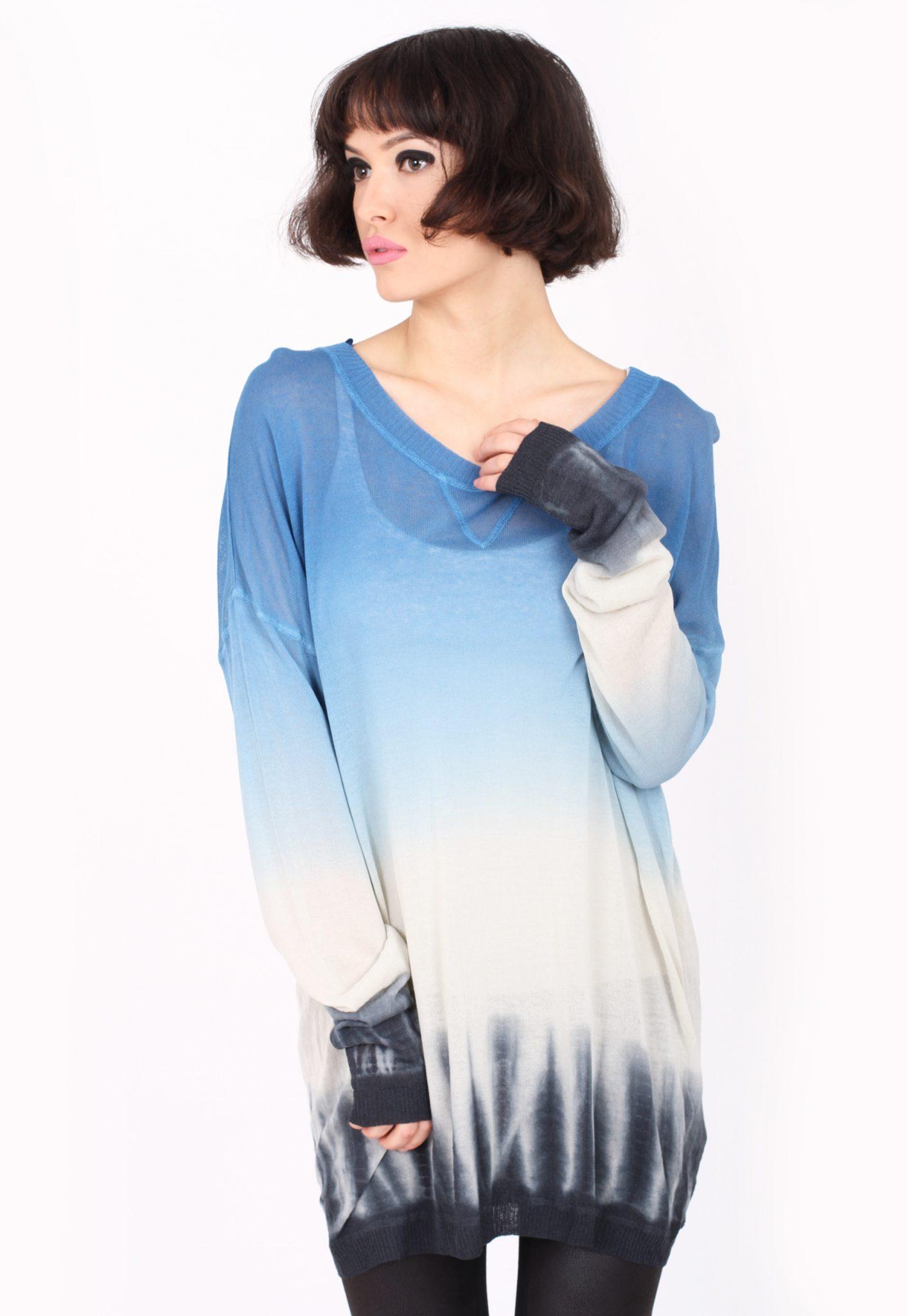 Bluza Pimkie Dice Culoare Albastra