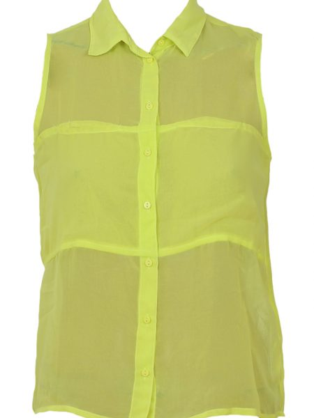 Camasa Bershka Collection Yellow