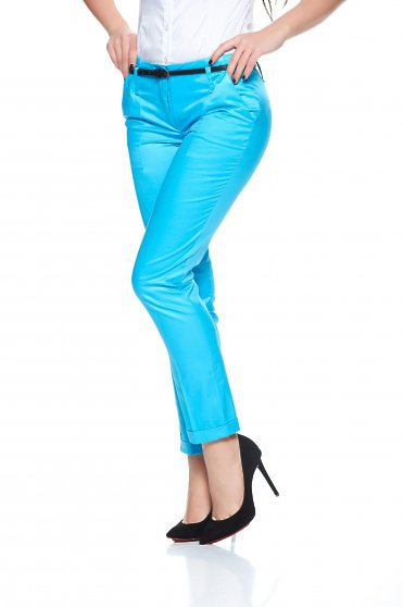Pantaloni Artista Style Idea Albastra