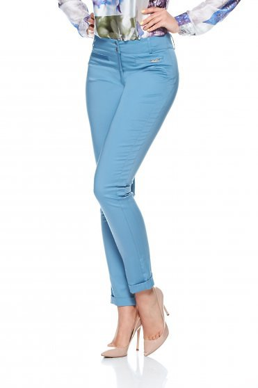 Pantaloni PrettyGirl Charming LightAlbastra