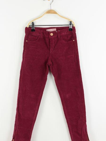Pantaloni ZARA Agatha Culoare Rosu
