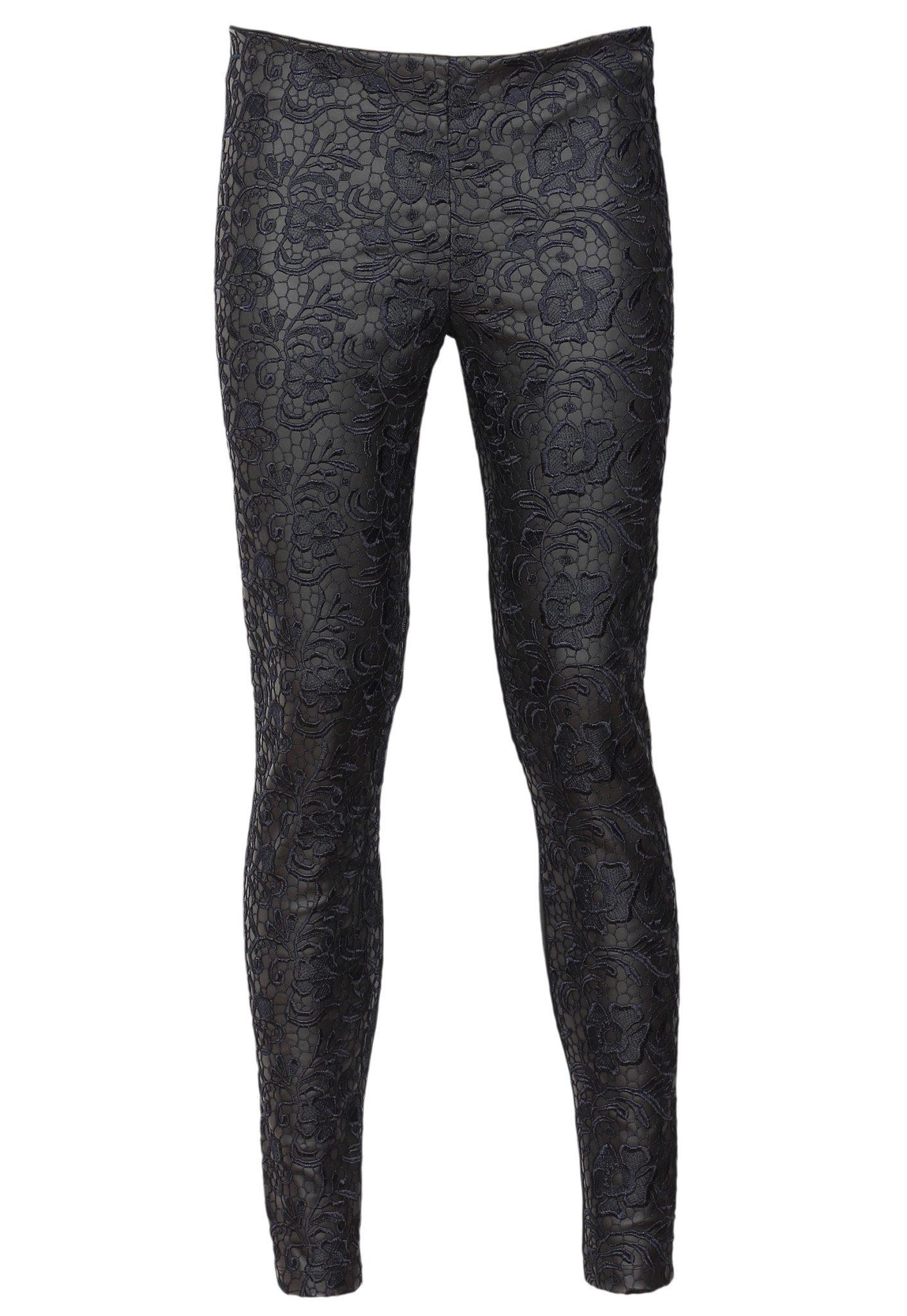 Pantaloni ZARA Haller Culoare Neagra