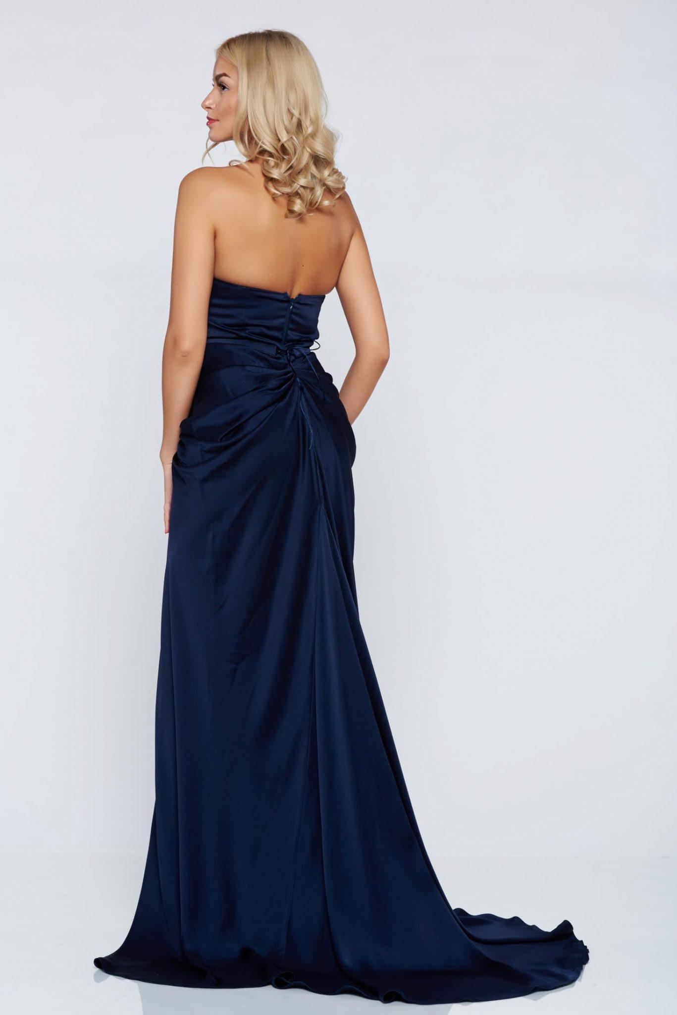rochie lunga cu trena