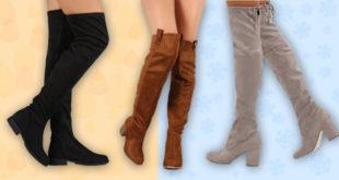 Ti-era dor de cizmele lungi peste genunchi? Iata ca au revenit - Trenduri