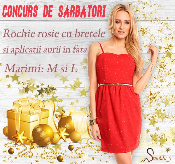 rochie-rosie-cu-bretele