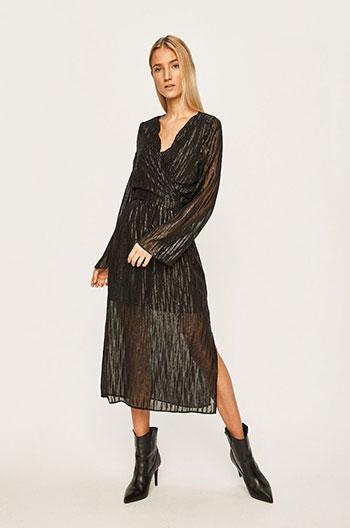 rochie-neagra-transparenta-si-stralucitoare