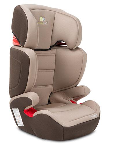 Scaun auto copii KinderKraft Junior Plus - Maron