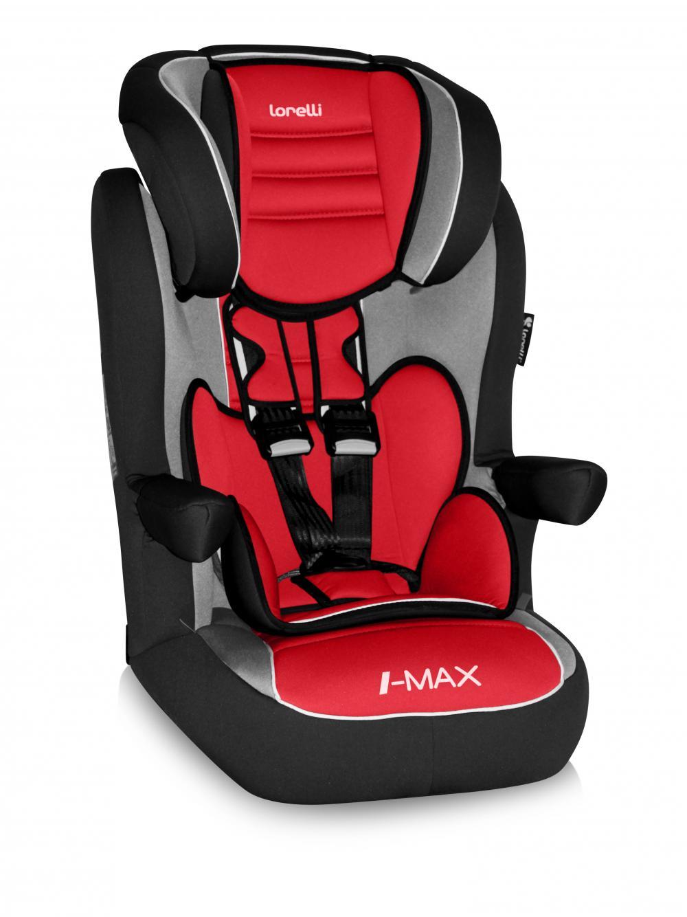 Scaun auto copii LORELLI PREMIUM I-Max SP Isofix - Agora Carmin