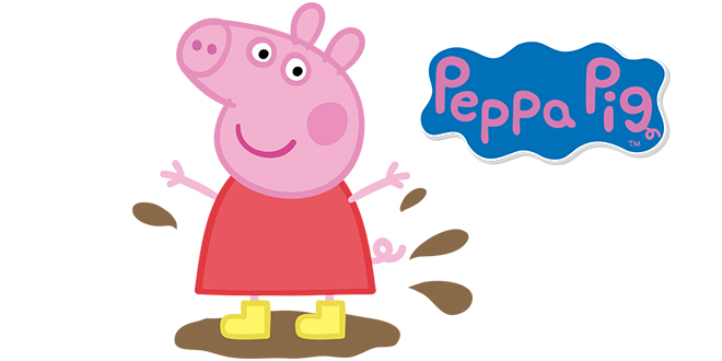 peppa pig sarind in balta