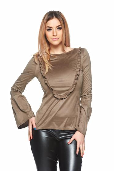 Bluza  Dating Style Brown