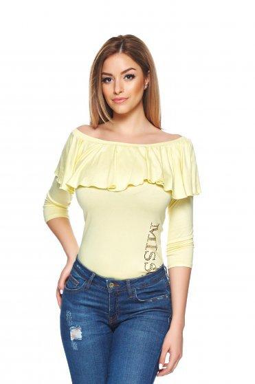 Bluza MissQ Hottie Yellow
