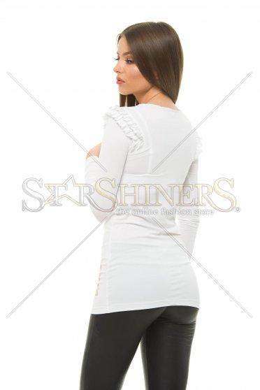 Bluza MissQ Natural Shine White -
