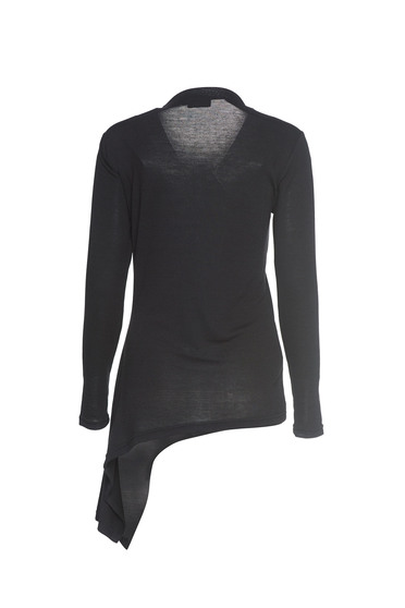 Bluza PrettyGirl Beauty Asymmetry Black -