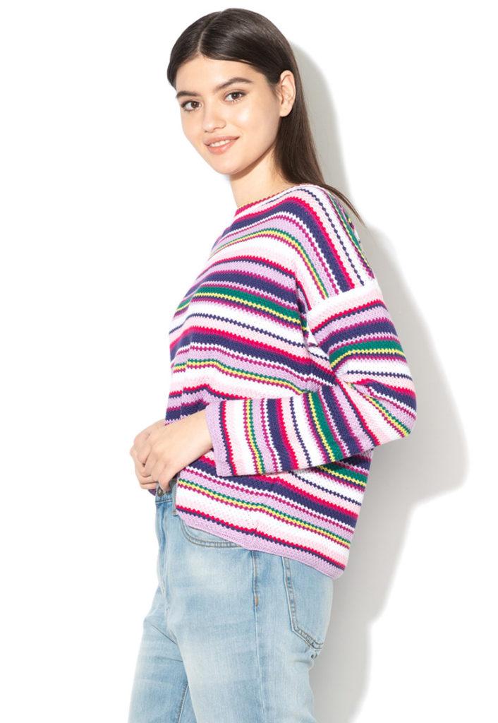 pulover colorat cu aspect covaras