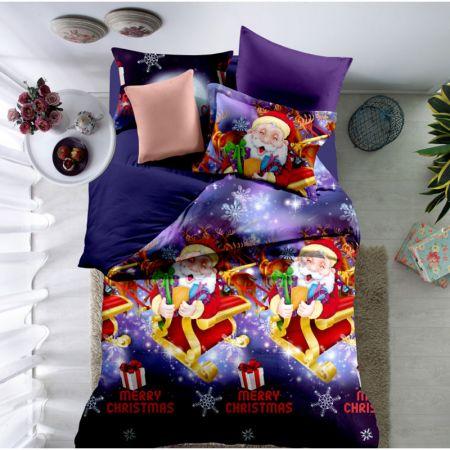 lenjerie de pat pentru craciun