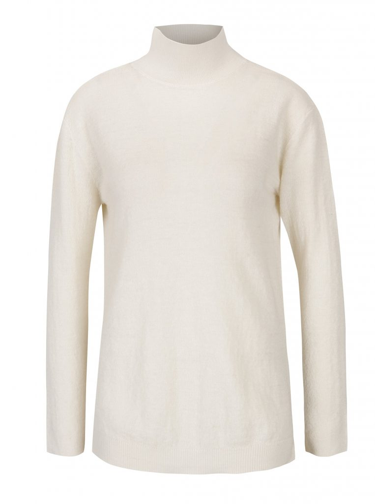 pulover cu decupaj la spate