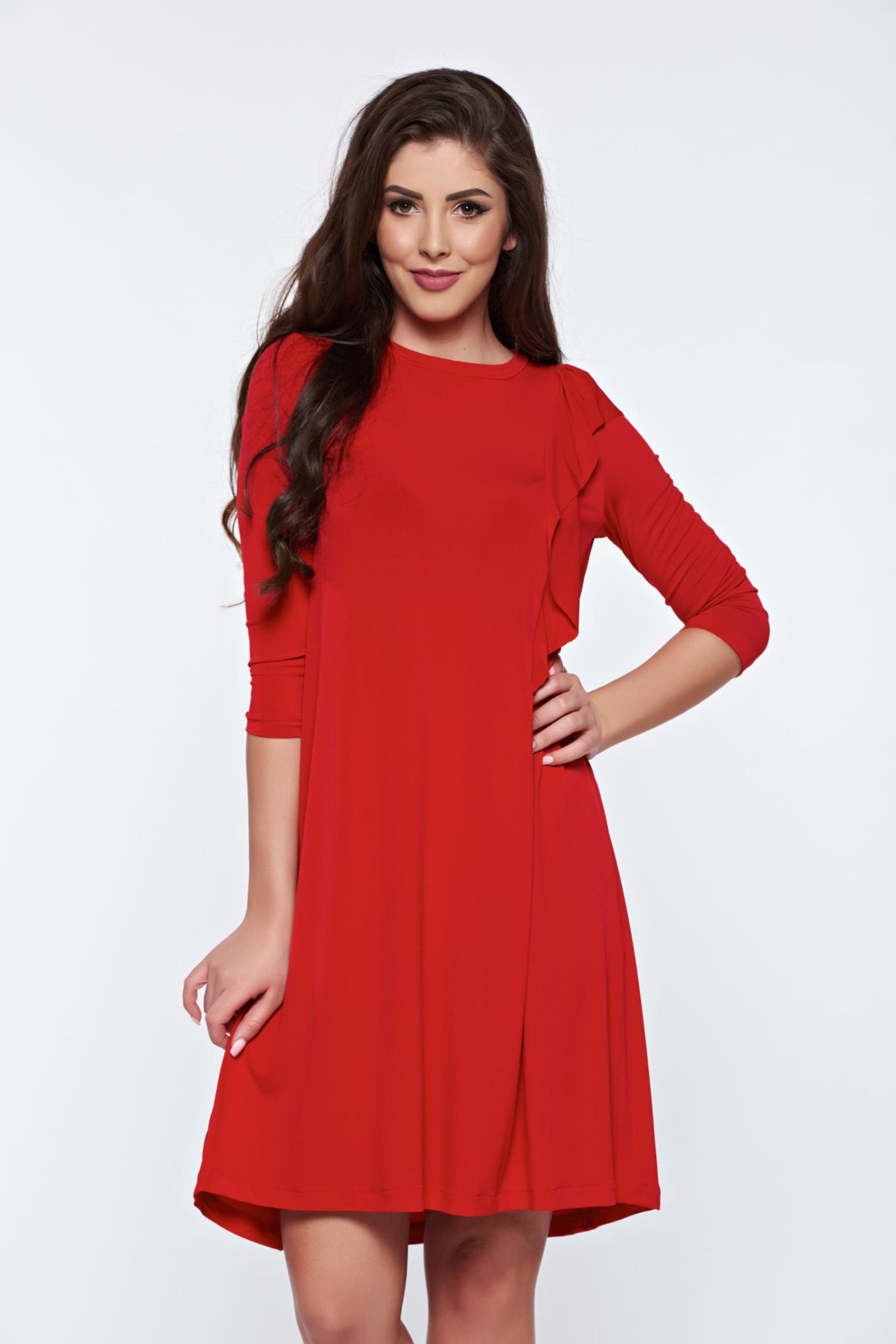 modele rochii rosii de seara