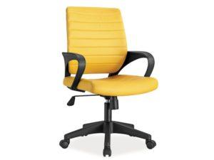 scaun birou galben