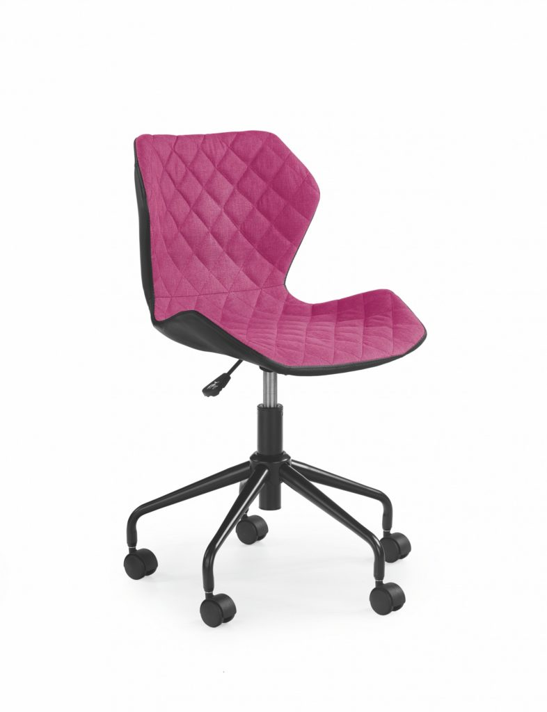 scaun birou roz